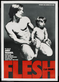 "Movie Posters:Sexploitation, Flesh (Sherpix, 1968). French Petite (23.5"" X 35""). Sexploitation...."