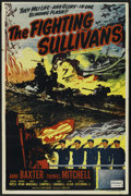 "Movie Posters:War, The Fighting Sullivans (Realart, R-1951). One Sheet (27"" X 41"").War. ..."