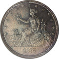 Patterns: , 1875 20C Twenty Cents, Judd-1403, Pollock-1546, High R.6, PR65 NGC.Liberty is seen on the obverse seated upon a globe with...