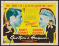 """Movie Posters:Comedy, Once Upon a Honeymoon (RKO, 1942). Half Sheet (22"""" X 28""""). Comedy....."""