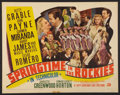 """Movie Posters:Musical, Springtime in the Rockies (20th Century Fox, 1942). Half Sheet (22"""" X 28"""") Style A. Musical.. ..."""