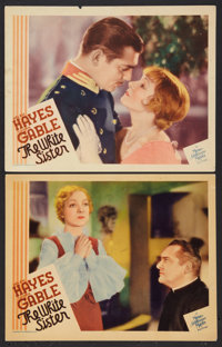 "The White Sister (MGM, 1933). Lobby Cards (2) (11"" X 14""). Drama. ... (Total: 2 Items)"