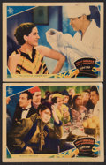 "Movie Posters:Drama, Riptide (MGM, 1934). Lobby Cards (2) (11"" X 14""). Drama.. ...(Total: 2 Items)"