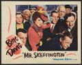 "Movie Posters:Romance, Mr. Skeffington (Warner Brothers, 1944). Lobby Card (11"" X 14""). Romance.. ..."