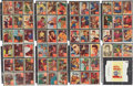 Music Memorabilia:Memorabilia, Elvis Presley 1956 Trading Card Set with Gum Wrapper....