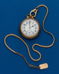 Timepieces:Pocket (post 1900), Hamilton, 21 Jewel, 992. ...