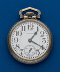 Timepieces:Pocket (post 1900), Waltham, 21 Jewel, Crescent Street, 16 Size. ...