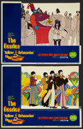 "Movie Posters:Animated, Yellow Submarine (United Artists, 1968). Lobby Cards (2) (11"" X14""). Animated.. ... (Total: 2 Items)"