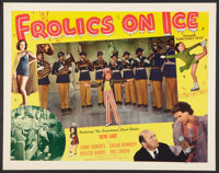 """Everything's on Ice (Screencraft, R-1945). Half Sheets (2) (22"""" X 28"""") and Lobby Card Set of 8 (11"""" X 14&..."""
