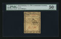 Colonial Notes:Continental Congress Issues, Continental Currency February 17, 1776 $1/2 PMG About Uncirculated50 EPQ.. ...