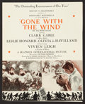 "Movie Posters:Academy Award Winners, Gone with the Wind (MGM, 1939). Herald (10.25"" X 16.5). AcademyAward Winners.. ..."