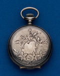 Timepieces:Pocket (post 1900), Elgin, Sterling, 0 Size, Hunters Case. ...