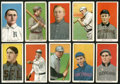 """Baseball Cards:Lots, 1909-11 T206 White Border """"Sweet Caporal"""" Collection (10) ..."""