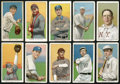 """Baseball Cards:Lots, 1909-11 T206 White Border """"Sweet Caporal"""" Collection (10). ..."""