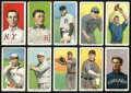 """Baseball Cards:Lots, 1909-11 T206 White Border """"Piedmont"""" Collection (10). ..."""