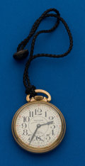 Timepieces:Pocket (post 1900), Waltham, 23 Jewel, Vanguard. ...