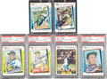 Baseball Cards:Lots, 1982 K-Mart Topps Set Signed By 38 Baseball Stars and Hall ofFamers....
