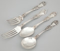 Silver Flatware, American:Wallace , A TWENTY-FIVE PIECE AMERICAN FLATWARE SERVICE . R. Wallace &Sons Mfg. Co., Wallingford, Connecticut, circa 1921. Marks: W...(Total: 25 Items Items)