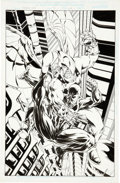 Original Comic Art:Covers, Mike McKone Spider-Man: 2099 #46 Cover Original Art (Marvel,1996)....