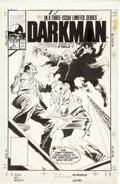 Original Comic Art:Covers, Bob Hall and Al Williamson Darkman #3 Cover Original Art(Marvel, 1990)....