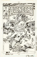 Original Comic Art:Covers, John Buscema and Tom Palmer The Avengers #297 Cover OriginalArt (Marvel, 1988)....