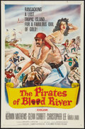 """Movie Posters:Adventure, The Pirates of Blood River (Columbia, 1962). One Sheet (27"""" X 41""""). Adventure.. ..."""
