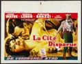 "Movie Posters:Adventure, Legend of the Lost (United Artists, 1957). Belgian (19.5"" X 25"").Adventure.. ..."