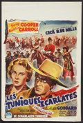 "Movie Posters:Adventure, North West Mounted Police (Paramount, 1948). Belgian (14.25"" X21.75""). Adventure.. ..."
