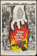 """Movie Posters:Drama, Shake Hands with the Devil (United Artists, 1959). One Sheet (27"""" X 41""""). Drama.. ..."""