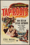 "Movie Posters:Drama, Tap Roots (Universal, R-1956). One Sheet (27"" X 41""). Drama.. ..."