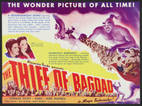 """The Thief of Bagdad (United Artists, 1940). Herald. (9"""" X 12""""). Fantasy"""