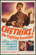 "Movie Posters:War, Chetniks (20th Century Fox, 1942). One Sheet (27"" X 41""). War.. ..."