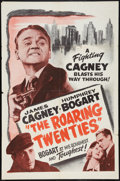 """Movie Posters:Crime, The Roaring Twenties (Warner Brothers, R-1950s). One Sheet (27"""" X41""""). Crime.. ..."""