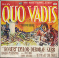 "Movie Posters:Historical Drama, Quo Vadis (MGM, 1951). Six Sheet (81"" X 81""). Historical Drama....."