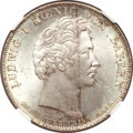 German States:Bavaria, German States: Bavaria. Ludwig I Taler 1828,...