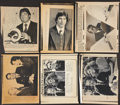 Football Collectibles:Photos, Football Hall of Famers Press Photographs Lot of 27....