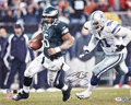 Football Collectibles:Photos, Donovan McNabb Signed Oversized Photographs Lot of 12....