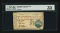 Colonial Notes:Georgia, Georgia 1777 $5 PMG Choice Very Fine 35.. ...