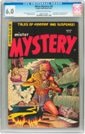 Golden Age (1938-1955):Horror, Mister Mystery #18 (Aragon, 1954) CGC FN 6.0 Cream to off-whitepages....