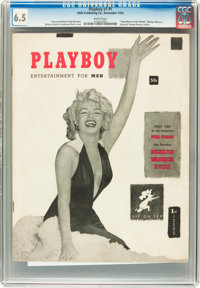 Playboy #1 Newsstand Edition (HMH Publishing, 1953) CGC FN+ 6.5 White pages
