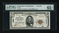 National Bank Notes:Pennsylvania, McKeesport, PA - $5 1929 Ty. 2 The NB of McKeesport Ch. # 4625. ...