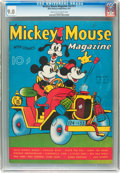 Platinum Age (1897-1937):Miscellaneous, Mickey Mouse Magazine V2#11 (K. K. Publications/ Western PublishingCo., 1937) CGC VF/NM 9.0 Cream to off-white pages....