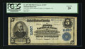 National Bank Notes:Virginia, Lovingston, VA - $5 1902 Plain Back Fr. 607 The First NB of NelsonCounty at Lovingston Ch. # 11957. ...