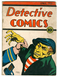 Detective Comics #2 (DC, 1937) Condition: FR