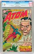 Silver Age (1956-1969):Superhero, The Atom #1 (DC, 1962) CGC FN/VF 7.0 Cream to off-white pages....