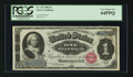 Large Size:Silver Certificates, Fr. 215 $1 1886 Silver Certificate PCGS Very Choice New 64PPQ.. ...