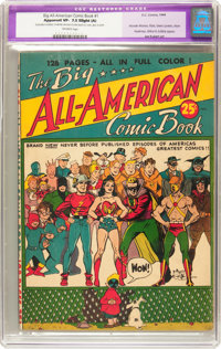 Big All-American Comic Book #1 (DC, 1944) CGC Apparent VF- 7.5 Slight (A) Off-white pages