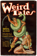 Pulps:Horror, Weird Tales - August 1934 (Popular Fiction, 1934) Condition: FN....