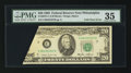 Error Notes:Foldovers, Fr. 2075-C $20 1985 Federal Reserve Note. PMG Choice Very Fine 35.....