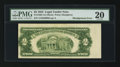Error Notes:Skewed Reverse Printing, Fr. 1509 $2 1953 Legal Tender Note. PMG Very Fine 20.. ...